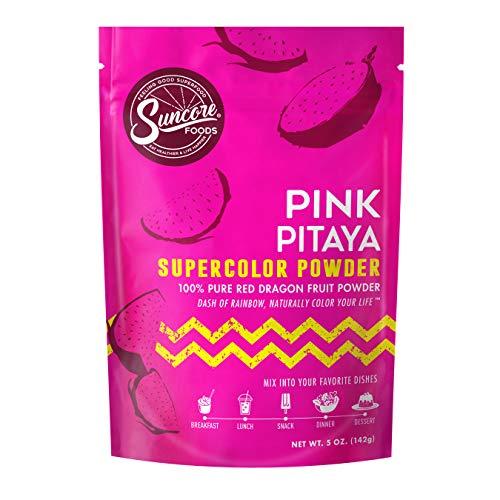 Suncore Foods – Premium Pink Pitaya Supercolor Powder, 5oz each ...