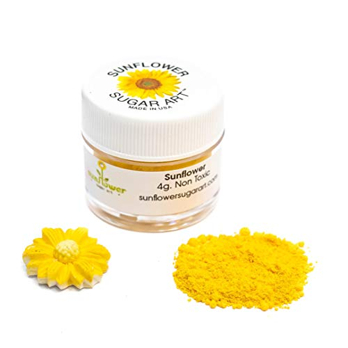 Sunflower Petal Dust, 4 gram container
