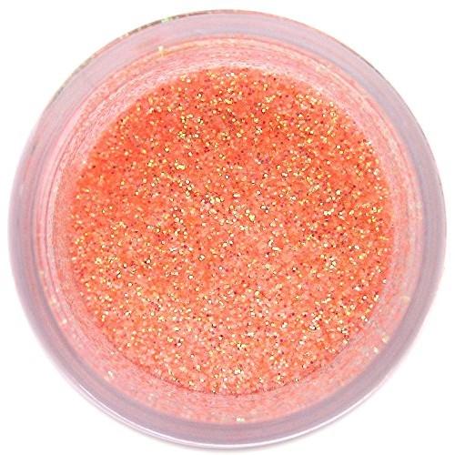 Baby Orange Disco Glitter Dust, 5 gram container
