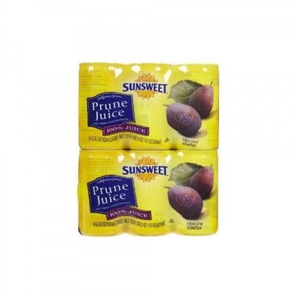 Sunsweet Juice Sunsweet Prun, 5.5-ounce Canisters Pack of 24