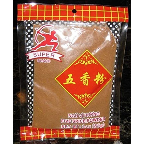 Super Chinese 5 Spice Powder Five Spice Powder 3 Oz. Asian Seaso...