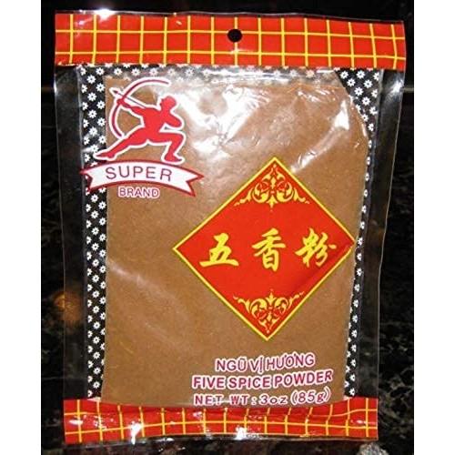 Super Chinese 5 Spice Powder Five Spice Powder 3 Oz. Asian Seaso...