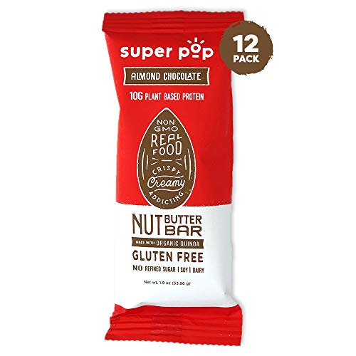 Super Pop Snacks, NEW LOOK! GLUTEN, SOY & DAIRY FREE, 10g Protei...