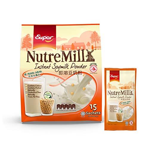 Super NutreMill Instant Soymilk Powder 450g 30g x 15 sachets