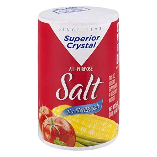 Superior Crystal Salt 26 oz pk of 6
