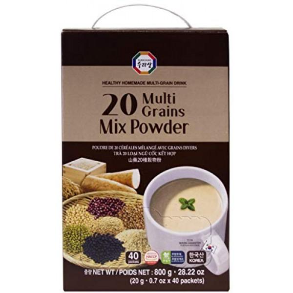 20 Multi-Grains Black, Brown Rice, Beans, Adlay, Millet, Barley,...