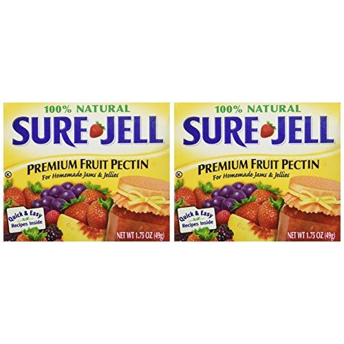 Sure Jell Premium Fruit Pectin For Homemade Jams And Jellies, 10...