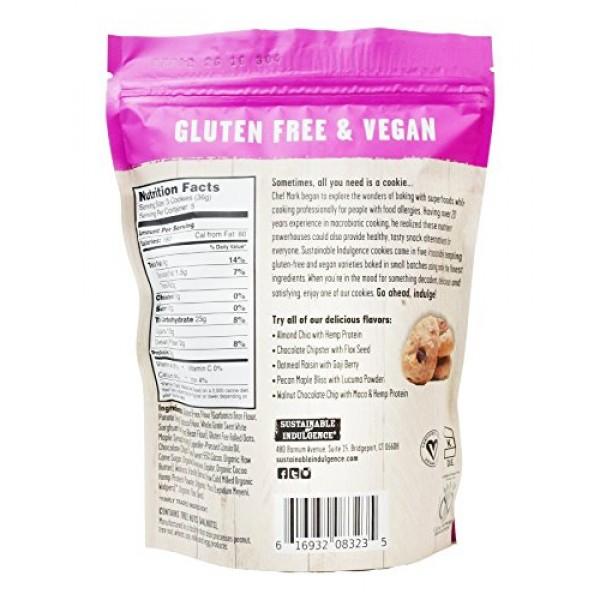 Sustainable Indulgence - Gluten Free, Vegan Cookies with Superfo...