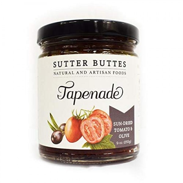 Sutter buttes sun-dried tomato and olive tapenade 9 oz.