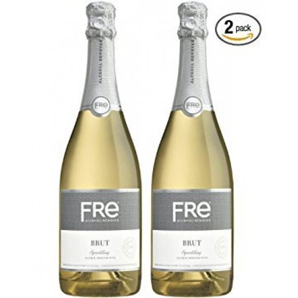 Sutter Home Fre Brut Non-alcoholic Champagne Wine Two Pack Pack...