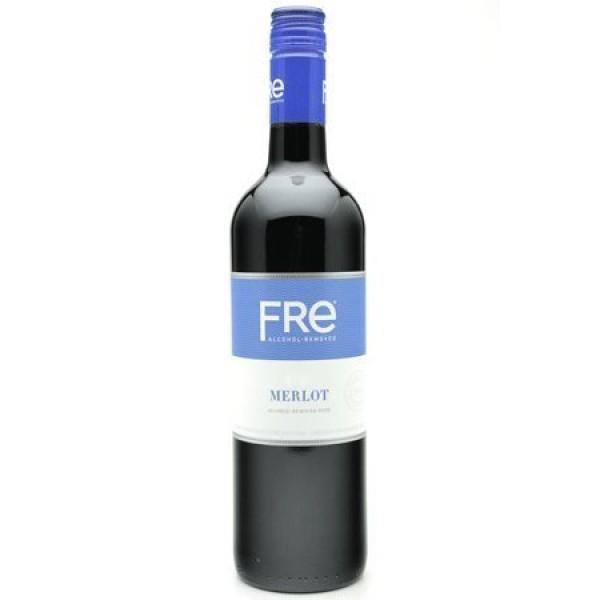 Sutter Home Fre Merlot Non-alcoholic Wine 3 Bottles