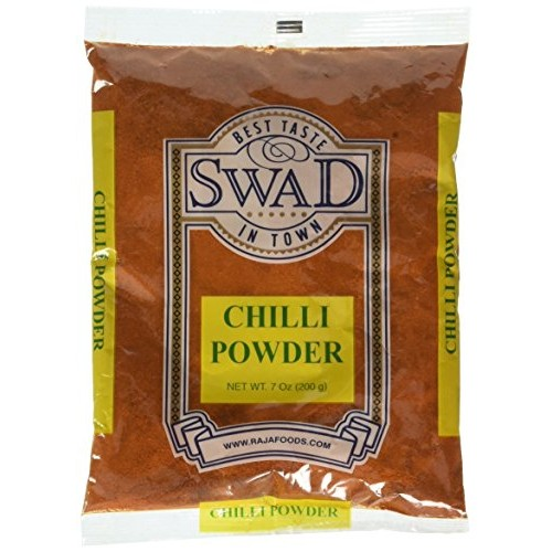 Indian Spice Swad Chili Powder Red Regular 7oz-
