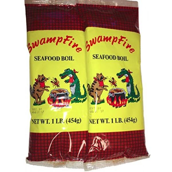 Swamp Fire Seafood Boil 1 lb 2pk