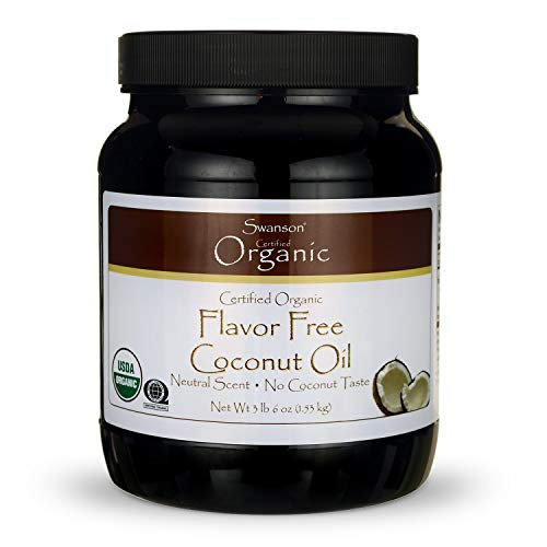 Swanson 100% Certified Organic Flavor Free Coconut Oil Cooking B...