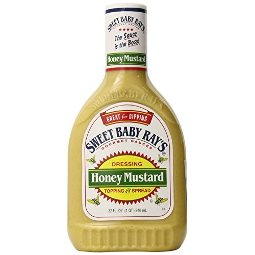 Sweet Baby Rays Honey Mustard Dressing Topping and Spread, 32 Fl...