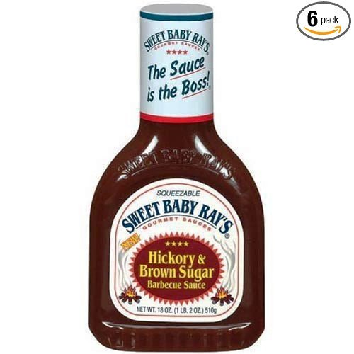 Sweet Baby Rays BBQ Sauce- Hickory & Brown Sugar - 18 Ounce- Sq...