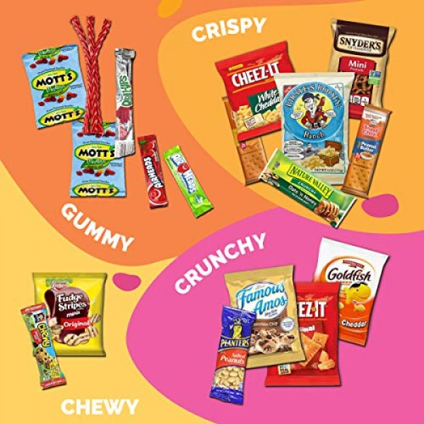 Sweet Choice 20 Count Ultimate Sampler snack box Mixed Bars, C...
