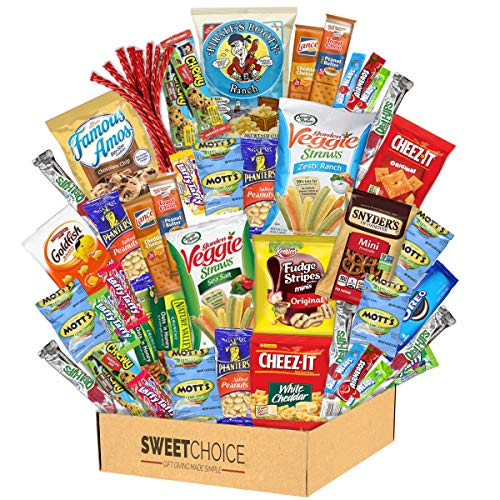 Sweet Choice 40 Count Ultimate Sampler Mixed Bars, Cookies, Ch...