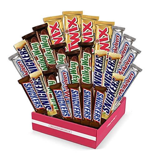 Sweet Choice gift Basket Mars Chocolate Bar Variety Pack, 55 Oun...