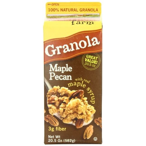 Sweet Home Farm Maple Pecan Granola, 20.5-Ounce Cartons Pack of 4