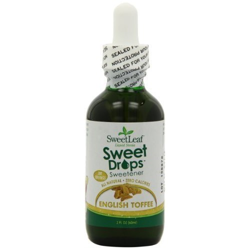SweetLeaf Sweet Drops Liquid Stevia Sweetener, English Toffee, 2...