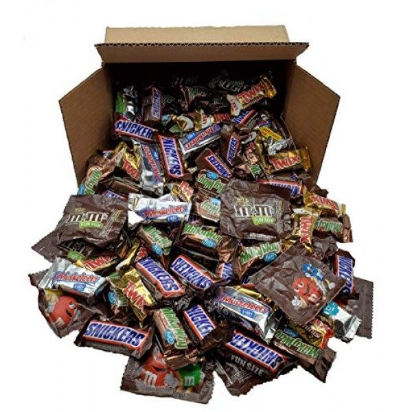 SNICKERS, M&MS, TWIX, 3 MUSKETEERS & MILKY WAY Fun Size, Mars Ch...