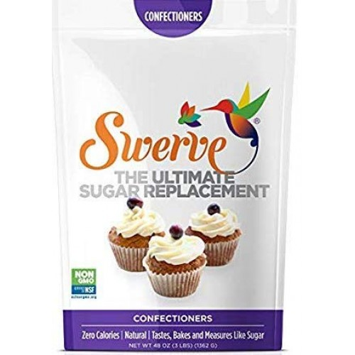 Swerve Confectioners Sweetener (48 oz): The Ultimate Sugar Repla...