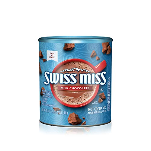 Swiss Miss Milk Chocolate Flavor Hot Cocoa Mix, 38.27 Ounce Cani...