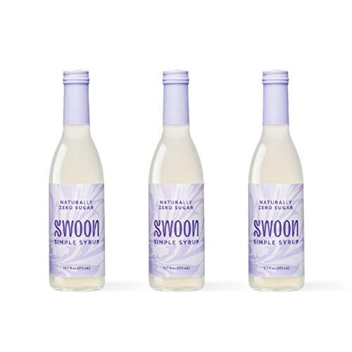 Swoon Zero Sugar Simple Syrup | Natural Liquid Sugar Substitute ...