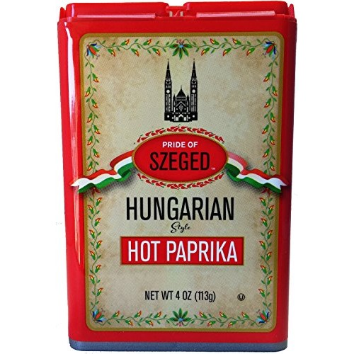 Szeged Hot Paprika Powder, 4oz