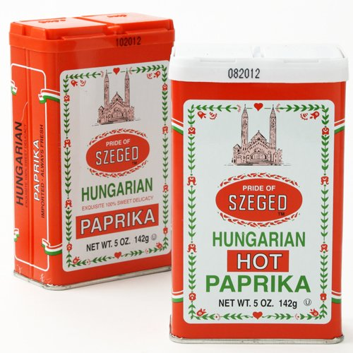 Traditional Hungarian Style Paprika - Hot 4 ounce