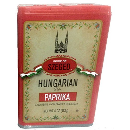 Szeged Hungarian Paprika - 4ounces Pack of 3
