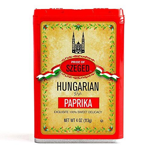 Szeged Sweet Paprika Seasoning Spice 4oz Pack of 2