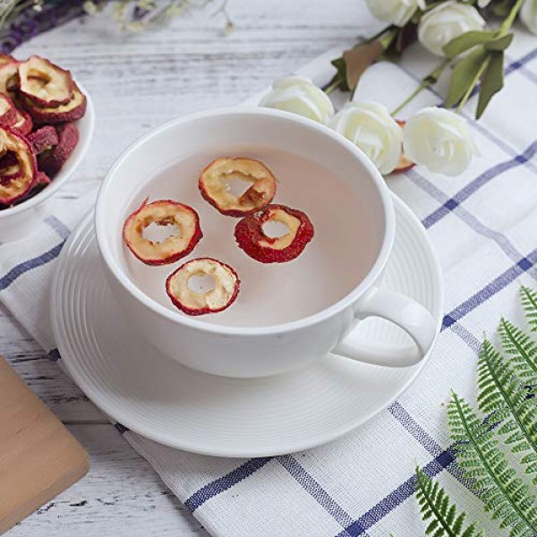 Chinese Hawthorn Fruit Tea,Nature Sun-Dried Berry Slices,Cut For...