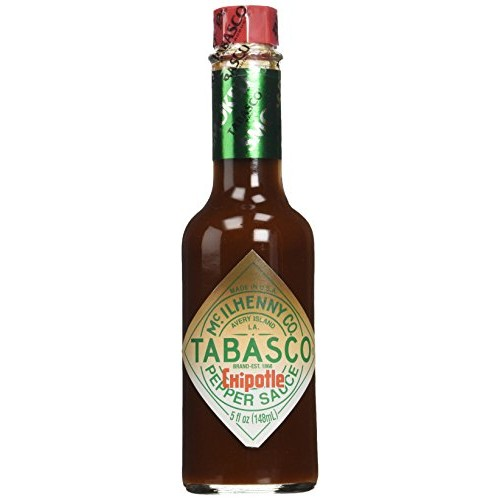 Tabasco Brand, Chipotle Hot Sauce, 5oz Bottle Pack of 3
