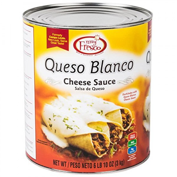 Muy Fresco Queso Blanco Mild White Cheese Sauce #10 Can By Table...