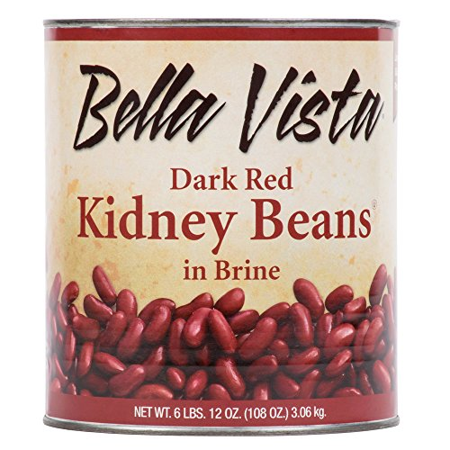 TableTop King #10 Can Dark Red Kidney Beans - 6/Case