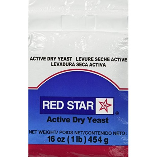TableTop King Lesaffre Red Star 1 lb. Vacuum Packed Bakers Activ...