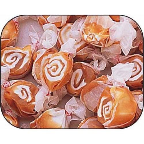 Caramel Swirl Gourmet Salt Water Taffy 1 Pound Bag by Taffy Town