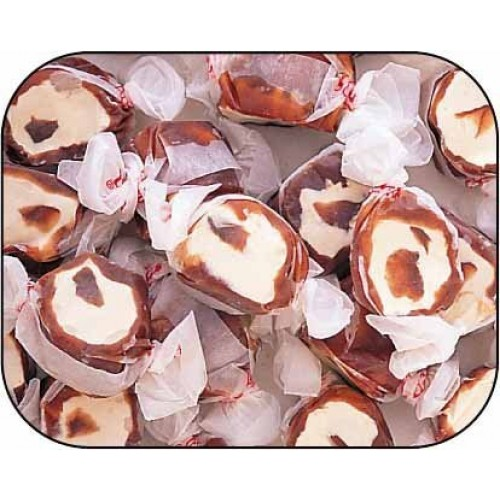 Chocolate Caramel Mocha Gourmet Salt Water Taffy 5 Pound Bag Bu...