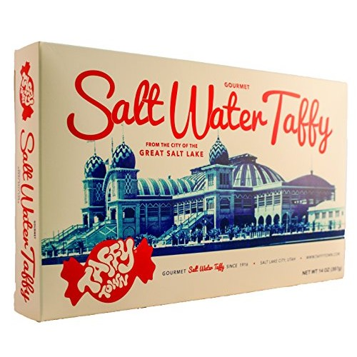 Gift Box 14 Ounces (Assorted) Salt Water Taffy - Gourmet Taffy b...