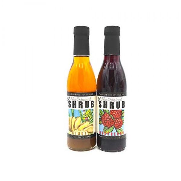 Tait Farm Raspberry Shrub/Ginger Shrub 2-Pack