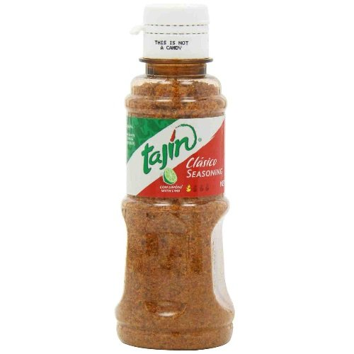 Tajin Clasico Seasoning with Lime, 5-Ounce Pack of 8