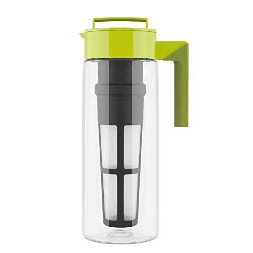 Takeya Iced Tea Maker with Patented Flash Chill Technology Made ...