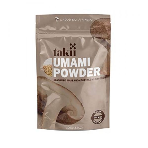 Takii Umami Powder, Magic Shiitake Mushroom Seasoning, Add Insta...