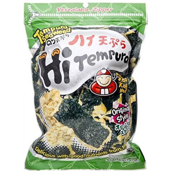 Hi Termpura Tempura Seaweed Original - 1.41oz Pack of 3