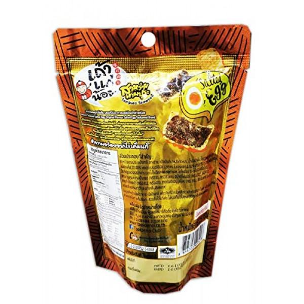 Taokaenoi Brand, Tempura Seaweed Salted Egg Original Flavour Sal...