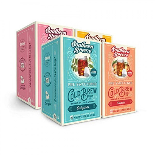 Southern Breeze COLD BREW Sweet Iced Tea Variety Pack - Original...