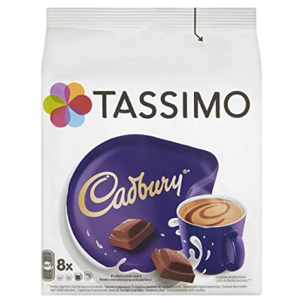 TASSIMO Cadbury Hot Chocolate Drink 16 discs, 8 servings Pack o...