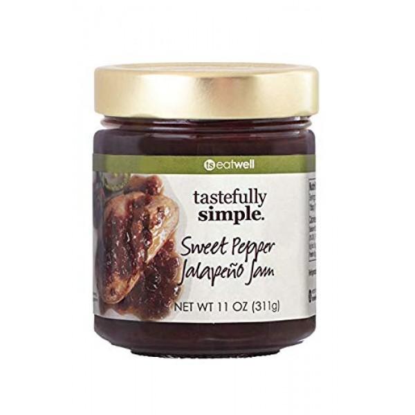 Tastefully Simple Sweet Pepper Jalapeno Jam